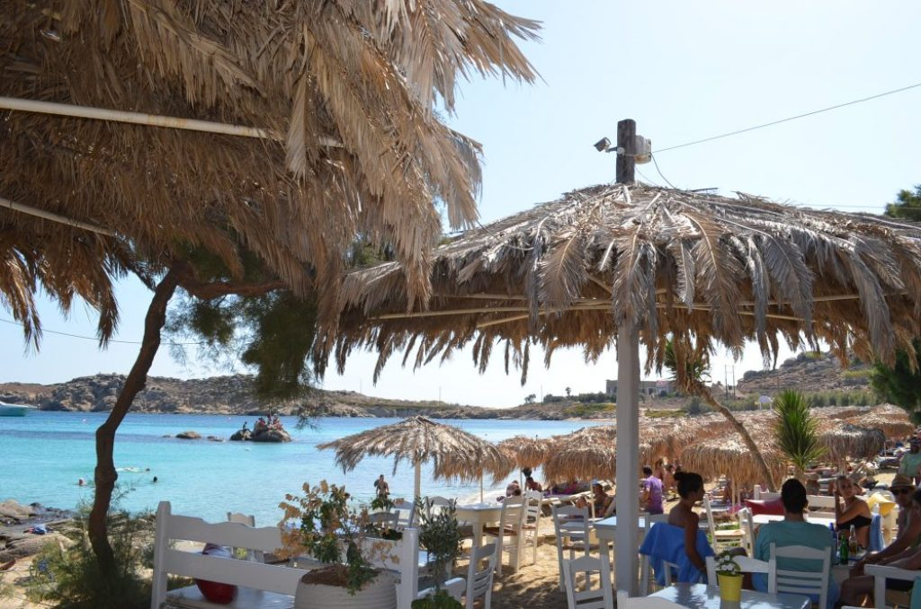 interesting things to see in Greek island Mykonos, paraga beach 5