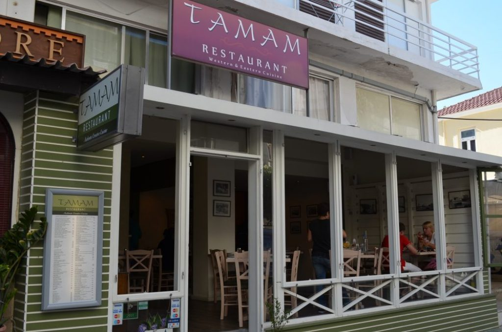 good restaurants in Rhodes islands, Tamam 7