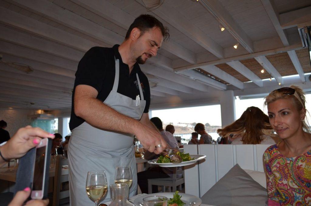 Avli-tou-Thodori-restaurant-Mykonos-Platys-Gialos