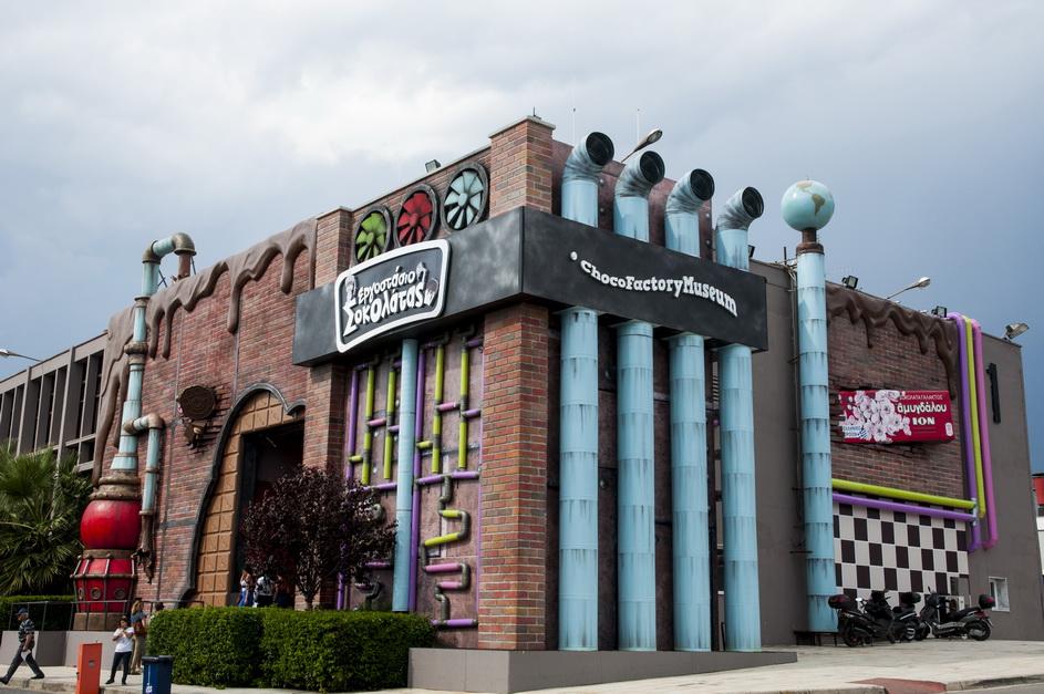bizarre and weird museums, chocofactory exterior 4