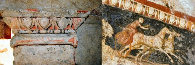 parallels between Verginas tombs and the new finds at Amphipolis