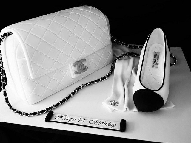 ideas for creative cake desig, chanel