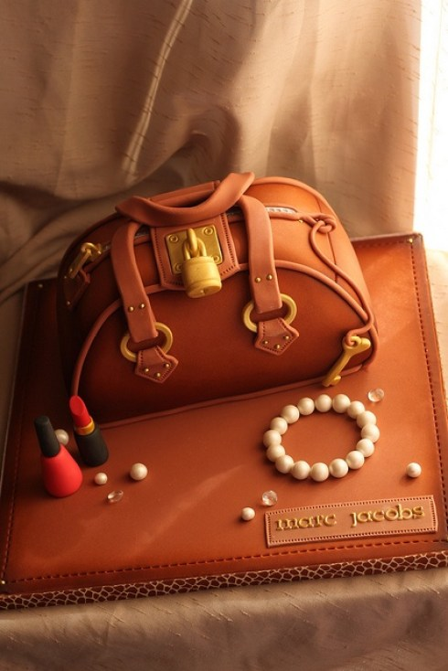 awesome food art, Marc Jacobs bag