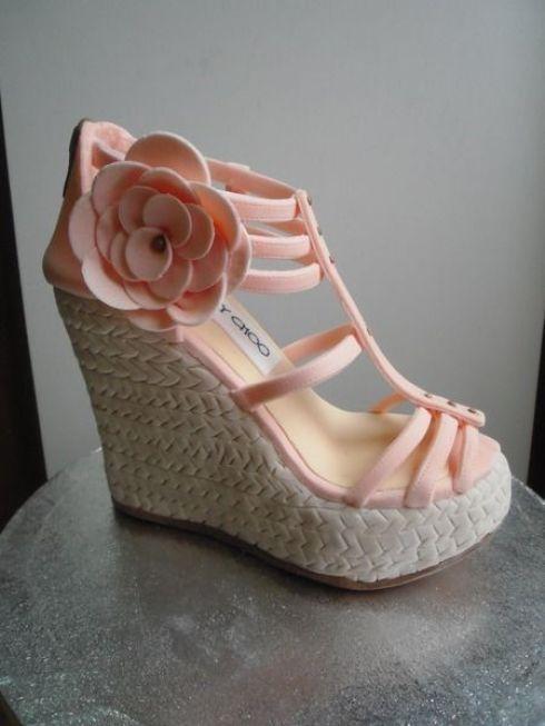 ideas for creative cake design, shoe