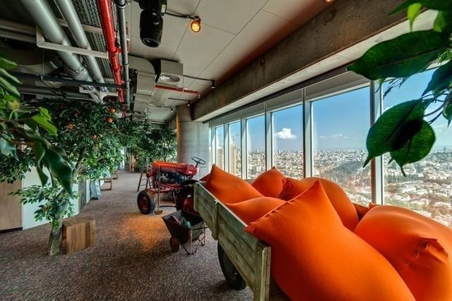 best working environment, Google office in Tel Aviv