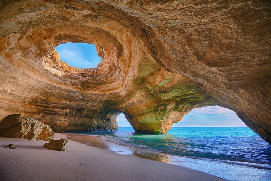 world's most impressive caves, Portugal