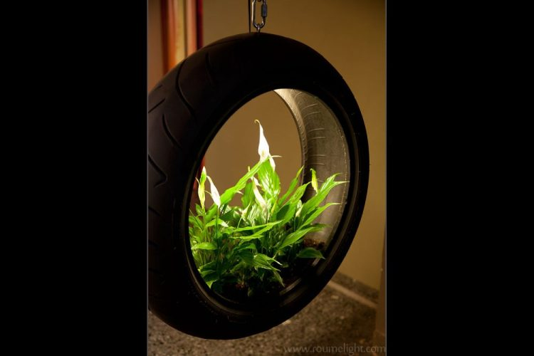 innovative lighting art, tyrelight 2