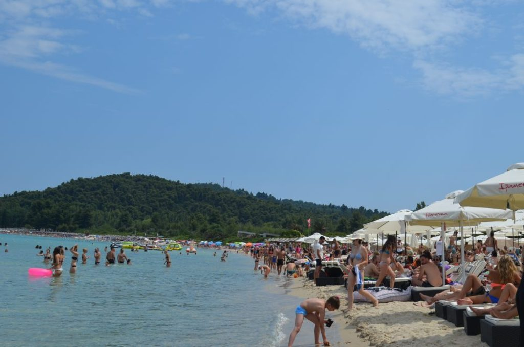 Greece Halkidiki Paliouri beach, best beach bar in Halkidiki Cabana 8