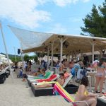 Greece Halkidiki Paliouri beach, best beach bar in Halkidiki Cabana 7