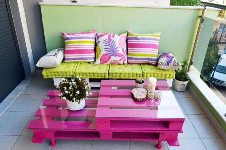 ideas and instructions for pallet bench and coffee table furniture