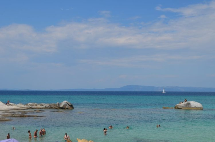 summer time in the most picturesque beach in Sithonia, Kavourotrupes 8