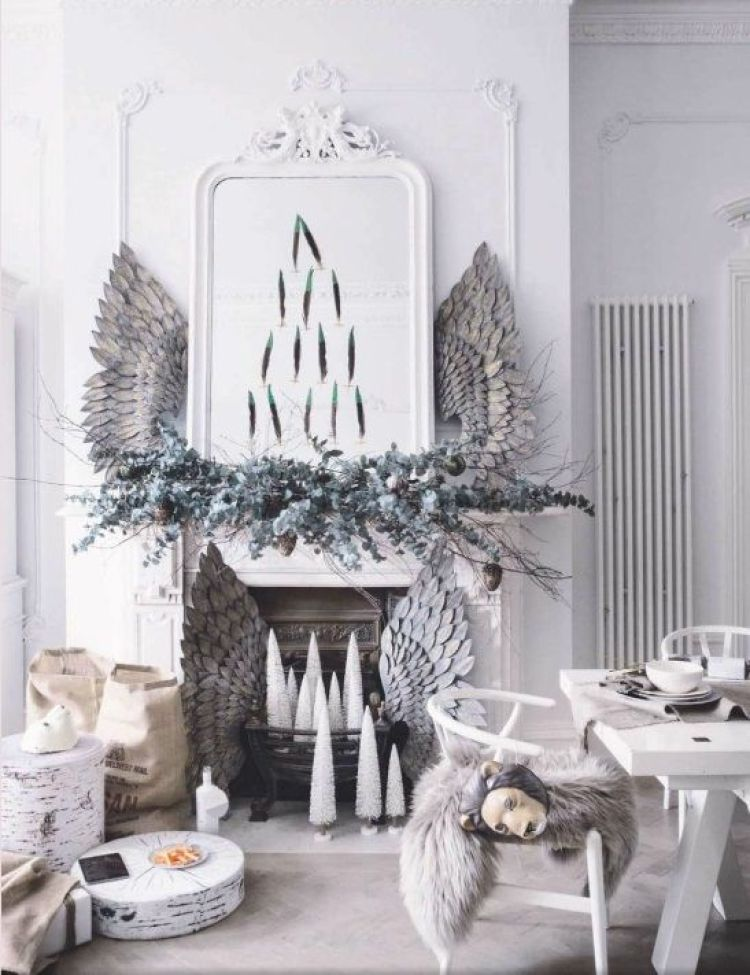 creative white christmas decoration 17