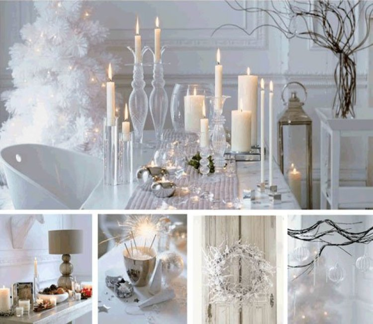 creative white christmas decoration 20