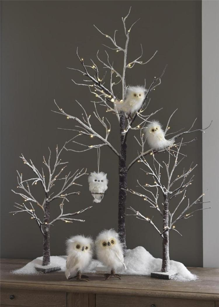 creative white christmas decoration 21