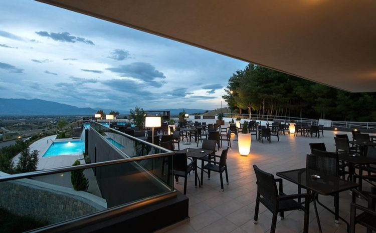 Ananti, 5star hotel in Trikala, terrace bar