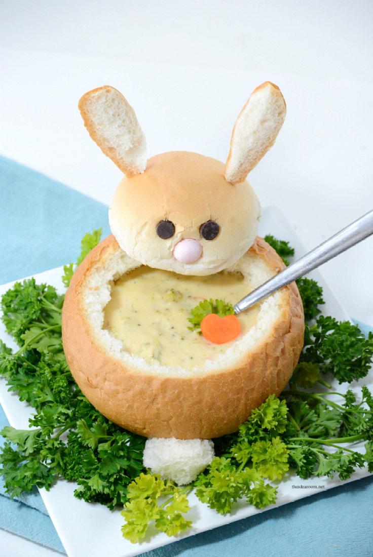 Creative Easter Food Ideas Bunny Bowl