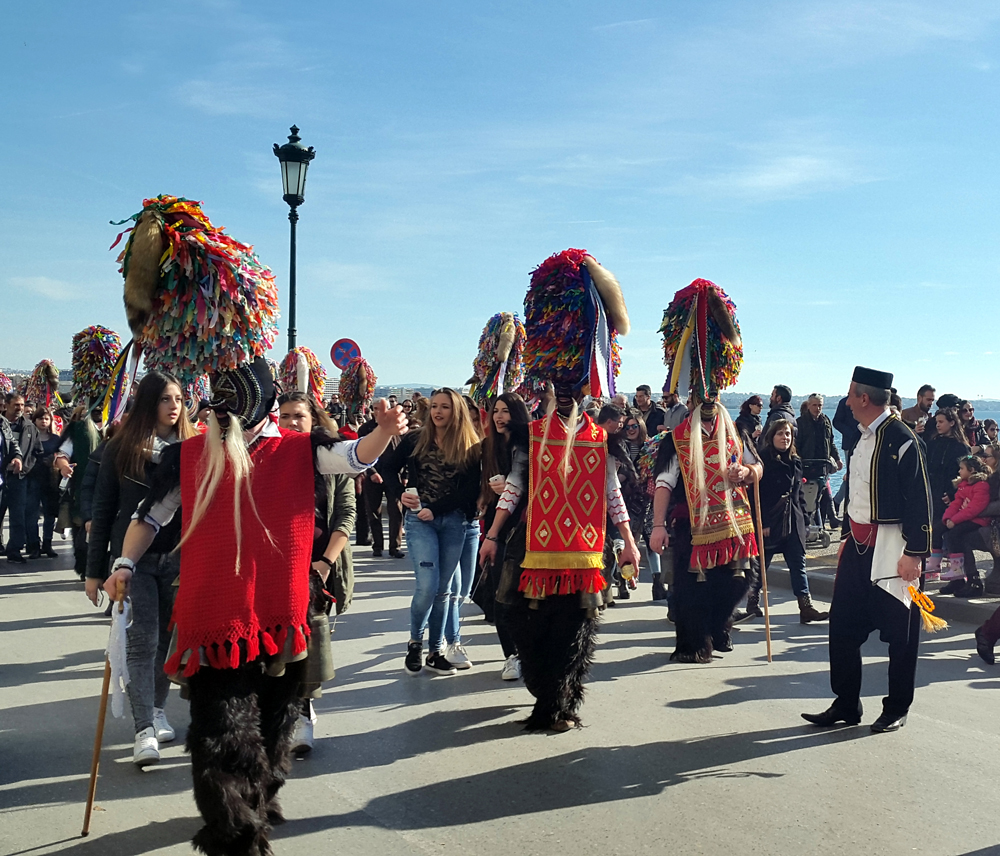 weird and unusual festival in Thessaloniki 10