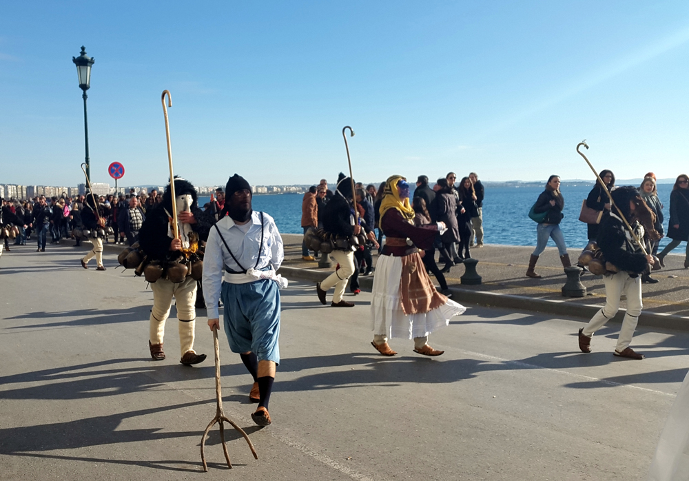 weird and unusual festival in Thessaloniki 17