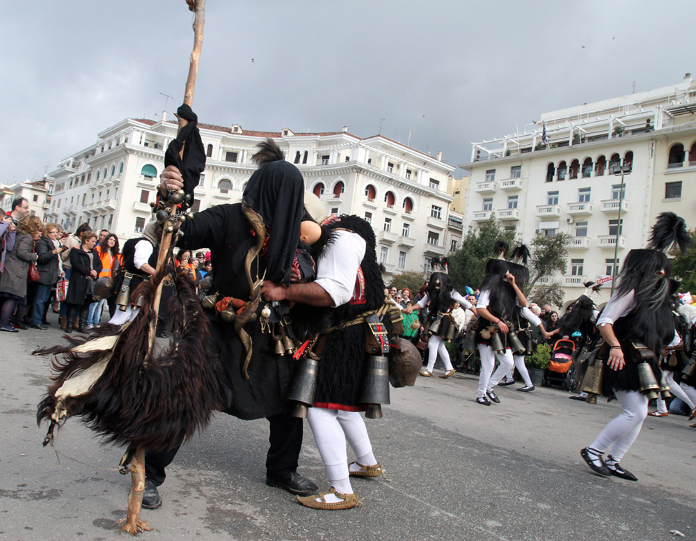weird and unusual festival in Thessaloniki 27