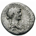 image of Cleopatra on coins 2