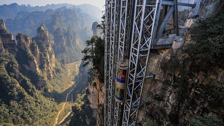 the tallest glass elevator, Hunan 5