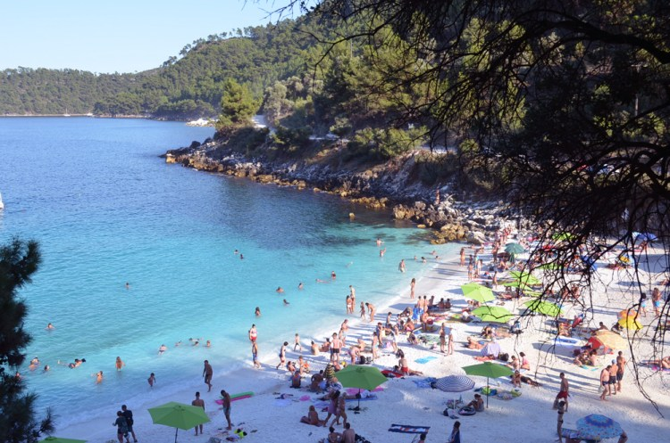 most beautiful beach in Thassos, marble beach 4
