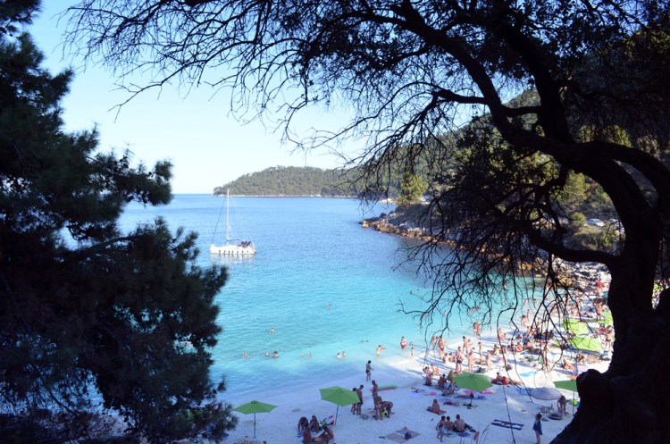 most beautiful beach in Thassos, marble beach 5