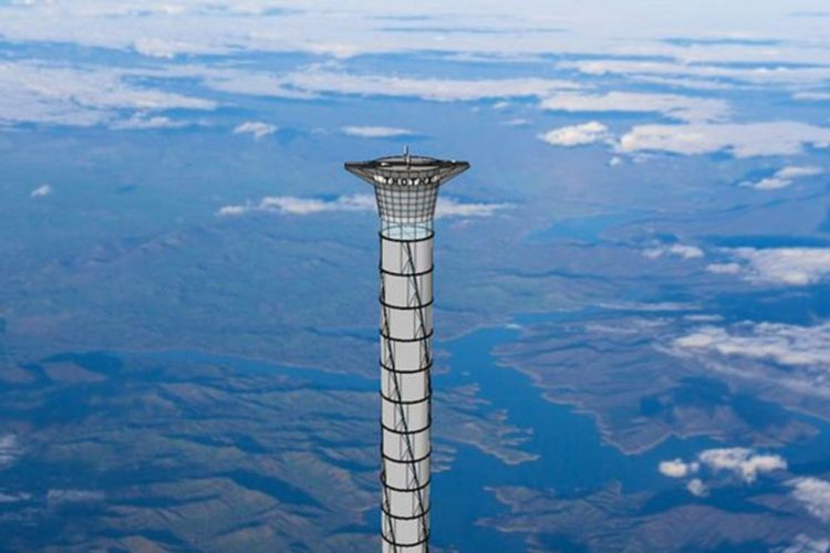 the project of the tallest space elevator
