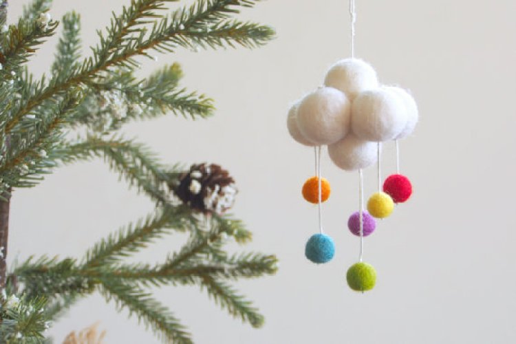 unusual holiday handmade crafts,cloud
