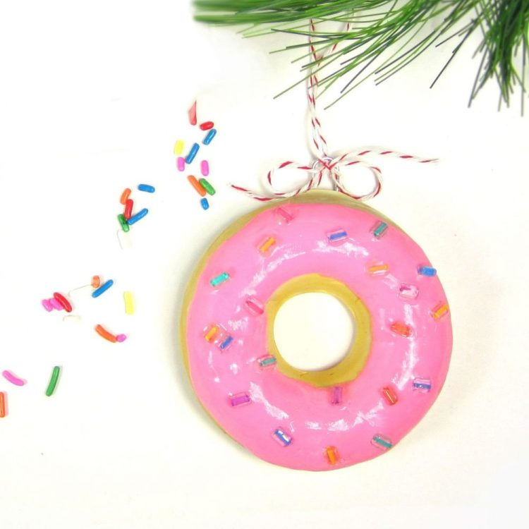unusual holiday handmade crafts, donuts