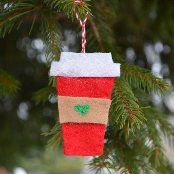 unusual holiday handmade crafts, coffee cup