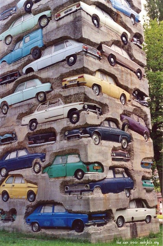 creative art in France, cars