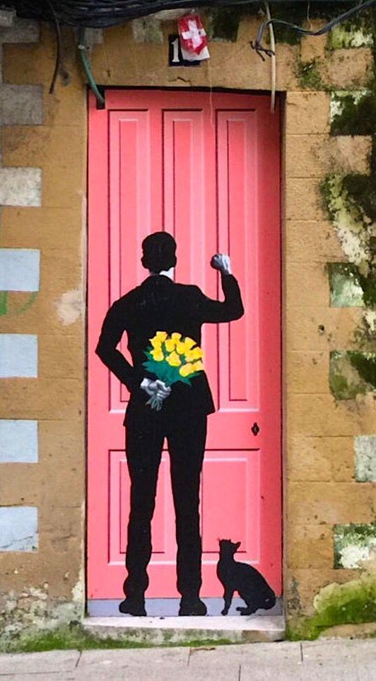 unusual and creative painted doors Spain 3 & Street Door Art. Creative Painted Doors Around The World. - Moco-choco