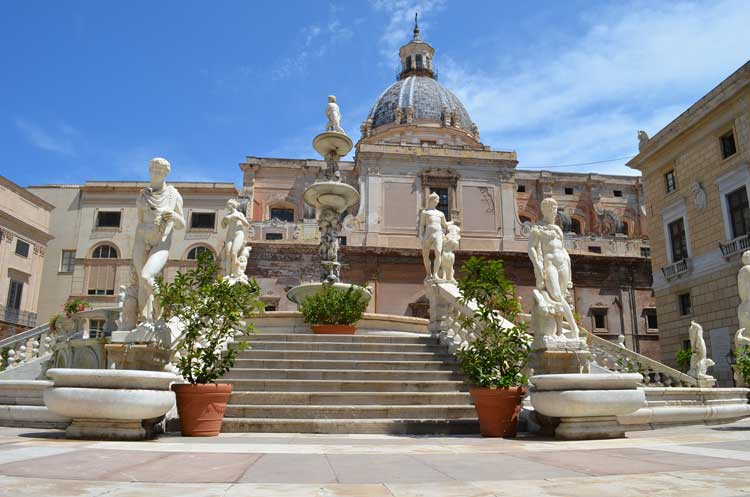 architecture in the city of Palermo, Sicily 14