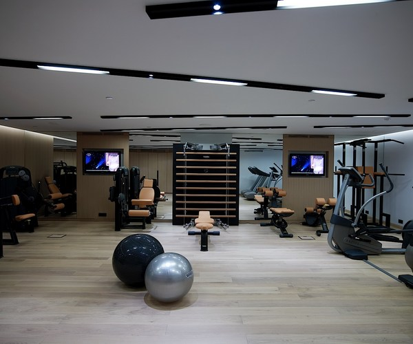 Gym at the Met Hotel