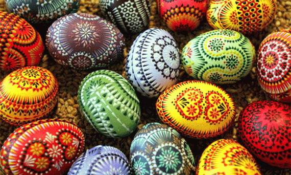fun ideas to color easter eggs 17