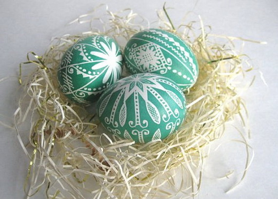 fun ideas to color easter eggs 8