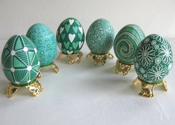 fun ideas to color easter eggs 9