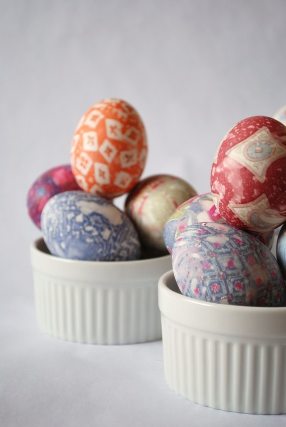 fun ideas to color easter eggs 10