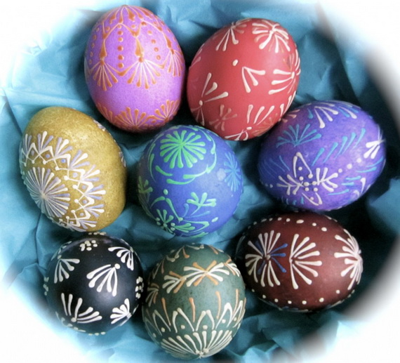 fun ideas to color easter eggs 11