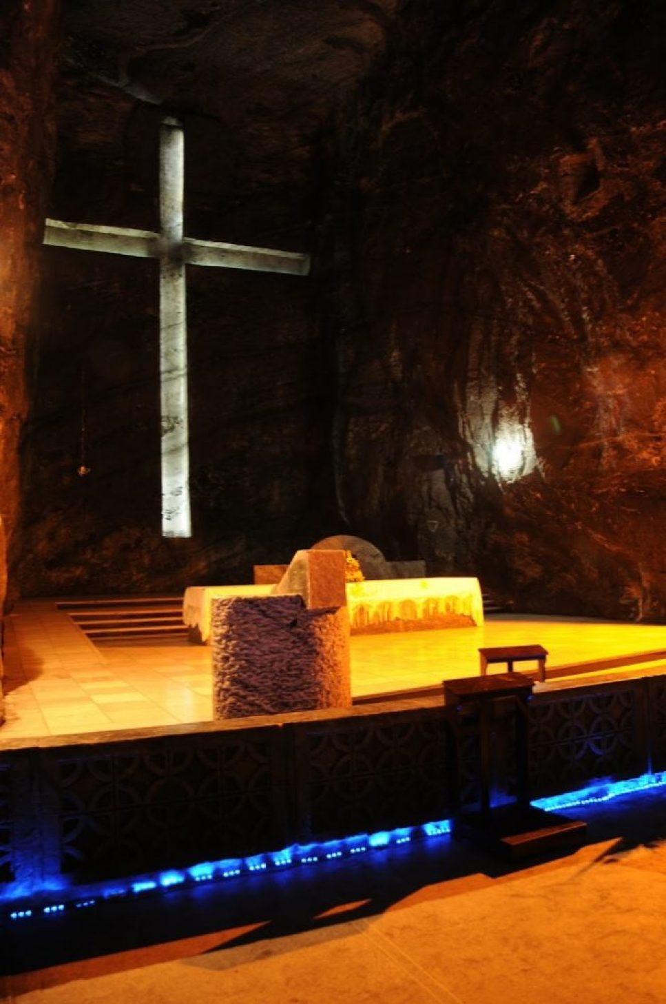salt cathedral in Zipaquirá, Columbia 9