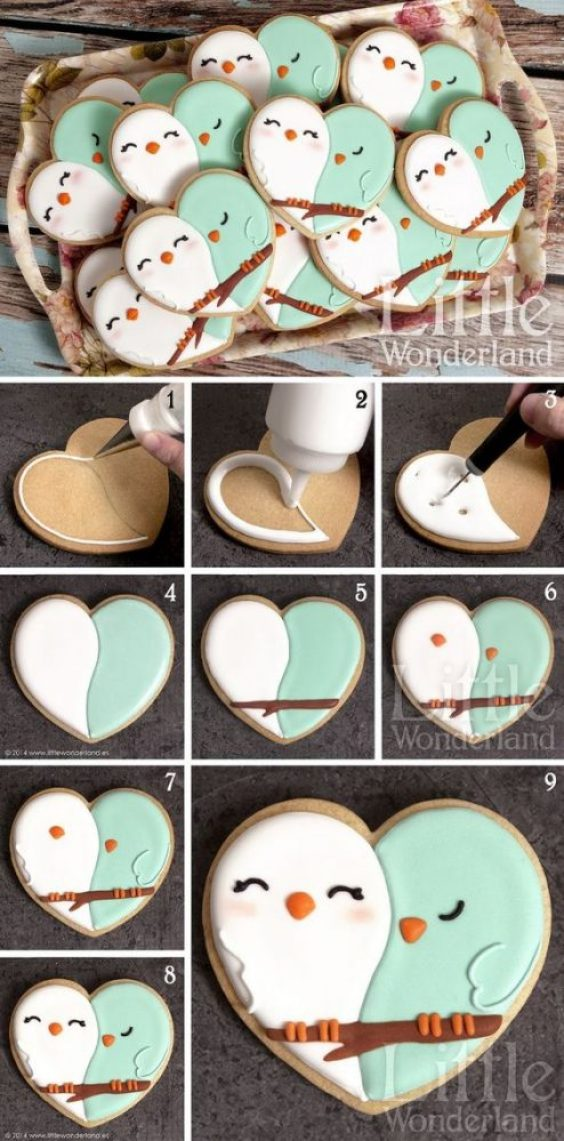 The Cutest Cookie Decor Ideas For The Valentine S Day Moco Choco