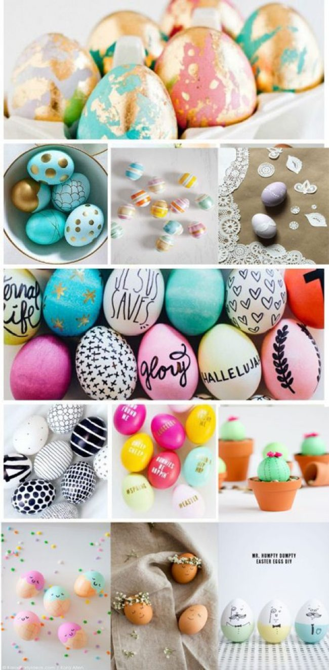 40 fun and creative ways to dye easter eggs