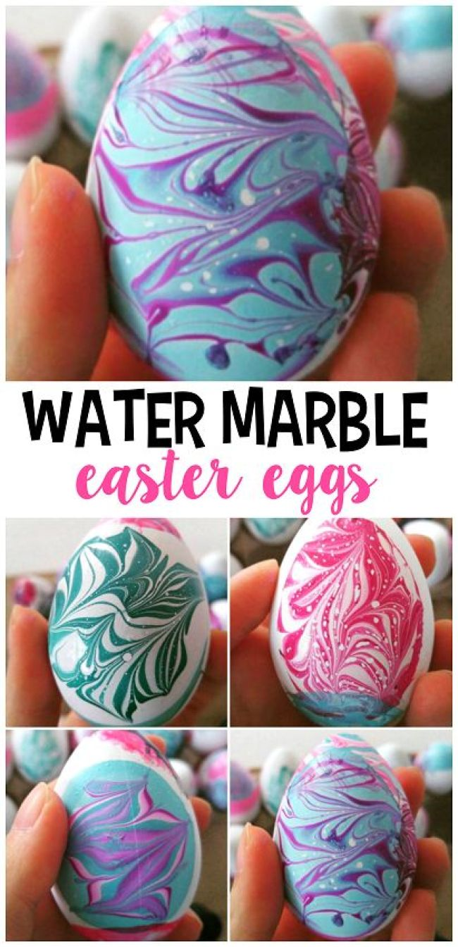 fun ways to dye easter eggs, water