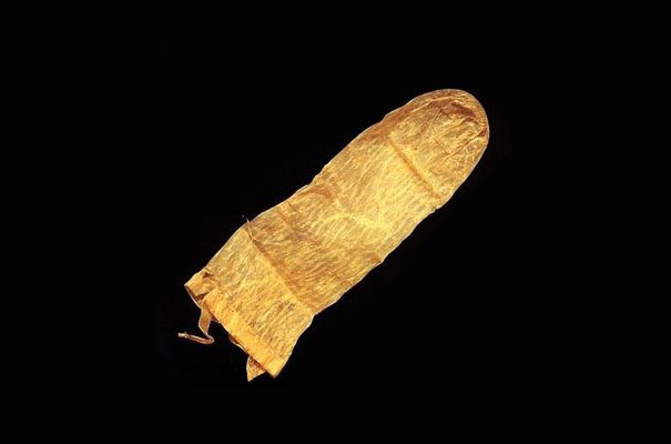 Oldest Objects Ever Found, condom