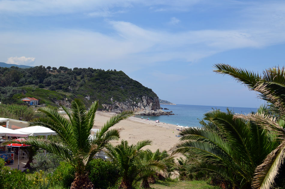 the most popular beaches of Pilio, Potistikon 7