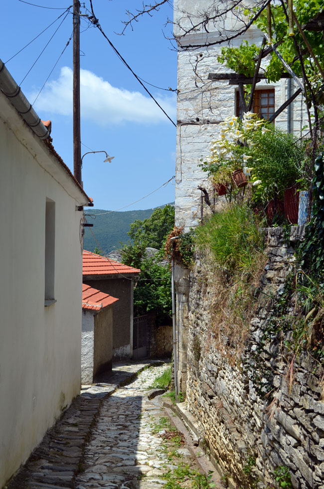 picturesque Greek village, Pilio 6
