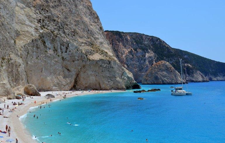 The Best Beaches of Lefkada Island, Greece.