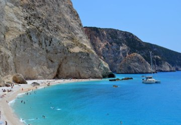 most popular beach in Lefkada island, Greece 10