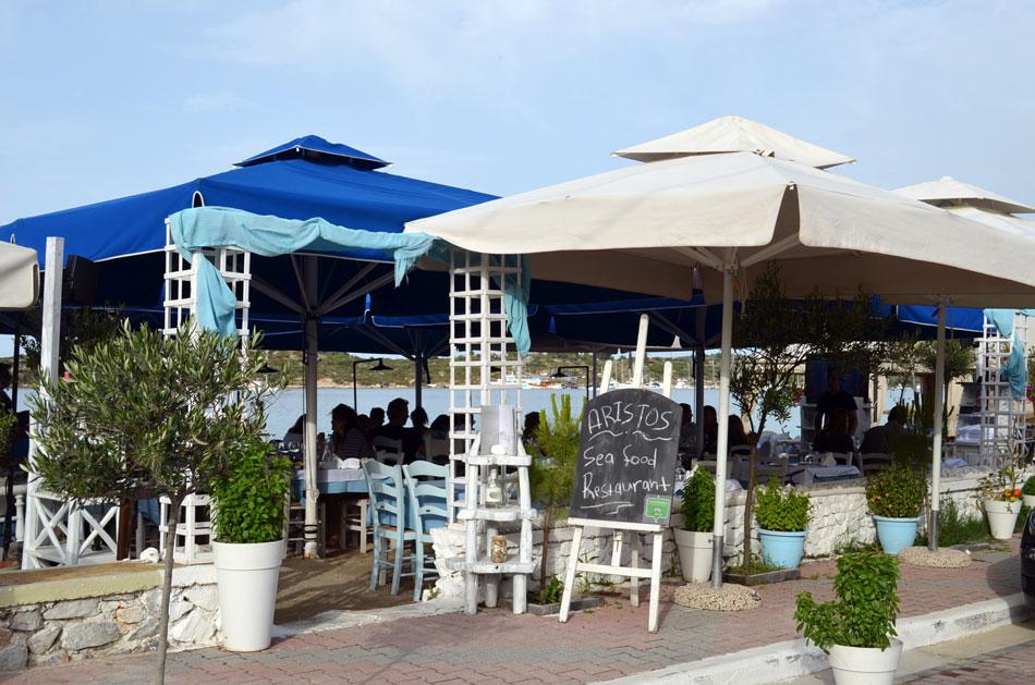 gourmet restaurants in Halkidiki, Aristos 2